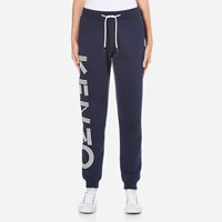 Kenzo Women's Side Logo Joggers Ink