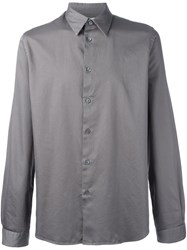 Paul Smith Ps By Classic Button Down Shirt Grey