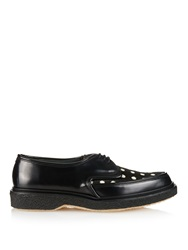 Adieu Type 51 Leather And Calf Hair Lace Ups