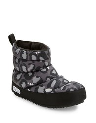 Marc By Marc Jacobs Quilted Ankle Boots Grey