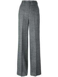 Pt01 Wide Leg Trousers Grey