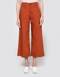 Need Wide Leg Trouser In Rust