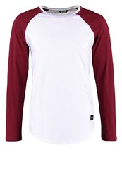 Only And Sons Onsmatt Long Sleeved Top White Cabernet