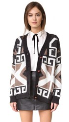 Wildfox Couture Cubist Cardigan Multi