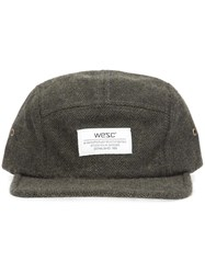 Wesc 'Tweed 5 Panel' Cap Green