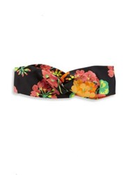 Gucci Tiana Silk Headband Black Multi