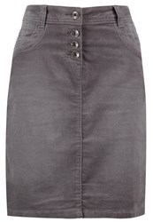 Tom Tailor Mini Skirt Smoked Pearl Grey Anthracite