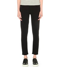 Citizens Of Humanity Elsa Cropped Slim Mid Rise Jeans Tuxedo