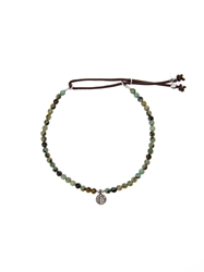 Catherine Michiels Charm Beaded Bracelet
