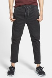 Globe Goodstock Cropped Beach Jogger Black