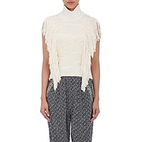 Sea Women's Brocade Sleeveless Sweater Ivory