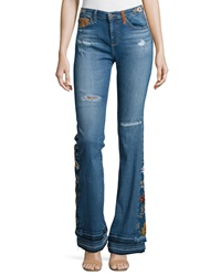 Ag Adriano Goldschmied Angel High Waist Flare Jeans 11 Years Sunflower
