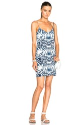 Mikoh Costa Rica Dress In Blue Ombre And Tie Dye