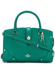 Coach 'Mercer' Tote Green