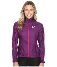 Pearl Izumi W Elite Barrier Cycling Jacket Wineberry Women's Workout Burgundy