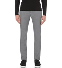 Armani Collezioni Slim Fit Tapered Jeans Grey