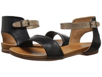 Miz Mooz Alanis Black Women's Sandals