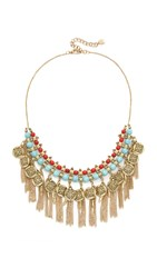 Adia Kibur Aaron Necklace Turquoise Red