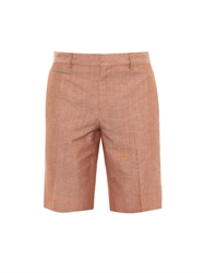Faconnable Striped Mirco Weave Shorts