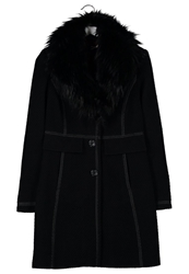 Comma Classic Coat Schwarz Black