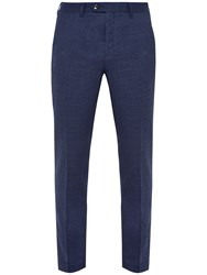 Ted Baker Welltro Moulin Single Button Trousers Blue