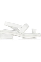 Acne Studios Nemy Leather Sandals White