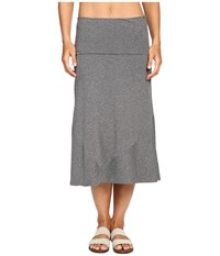 Exofficio Wanderlux Convertible Skirt Charcoal Heather Women's Skirt Gray