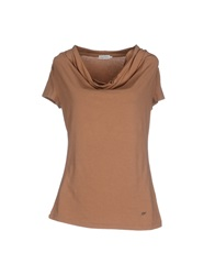 Henry Cotton's T Shirts Brown