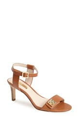 Women's Louise Et Cie 'Hayworth' Leather Ankle Strap Sandal Brown