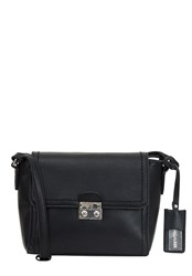 Hallhuber Small Shoulder Bag With Flap Black