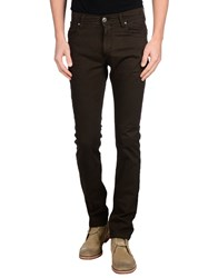 It's Met Trousers Casual Trousers Men Dark Brown