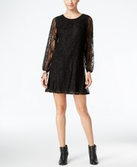 Styleandco. Style Co. Petite Lace Shift Dress Only At Macy's Deep Black