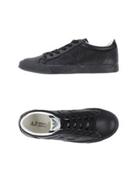 Armani Jeans Low Tops And Trainers Black