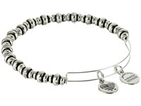 Alex And Ani Nile Beaded Expandable Bangle Russian Silver Bracelet