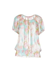 Fornarina Blouses Turquoise