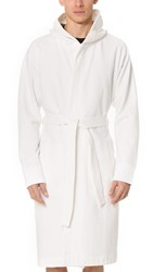 Reigning Champ Midweight Terry Robe Winter White
