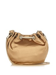 Diane Von Furstenberg Love Power Mini Bucket Bag Beige