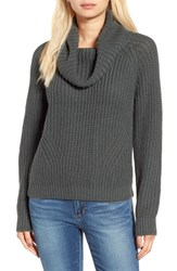 Women's Bp. Cowl Neck Pullover Sweater Grey Urban