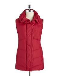 Eileen Fisher Pillow Collar Puffer Vest