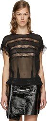 Isabel Marant Black Spike Blouse