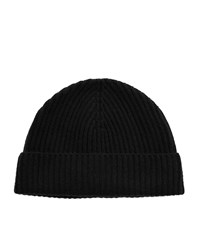 Harrods Of London Classic Rib Hat Unisex Black