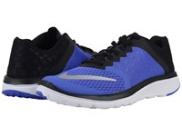 Nike Fs Lite Run 3 Persian Violet Black White Metallic Silver Women's Running Shoes Blue