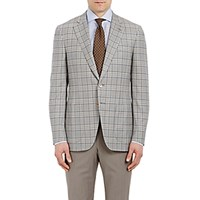 Isaia Men's Plaid Gregory Sportcoat Tan
