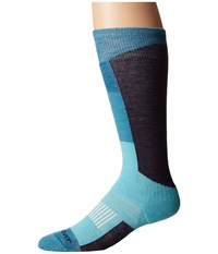 Fox River Wilmot Lw Teal Crew Cut Socks Shoes Blue