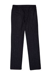 French Connection Pin Stripe Trousers Blue