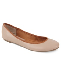 American Rag Celia Ballet Flats Only At Macy's Women's Shoes Nude