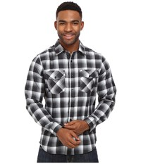Hurley Dri Fit Rowen Long Sleeve Flannel Black Men's Clothing