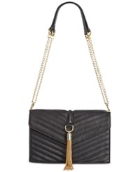 Inc International Concepts Yvvon Shoulder Bag Only At Macy's Black