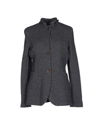 Original Vintage Style Suits And Jackets Blazers Women Grey