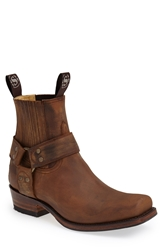 Sendra Harness Boot Men Tan